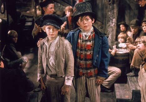 scene from the movie Oliver 1968
