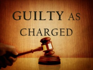 Guilty as Charged Gavel