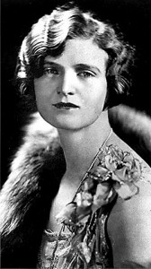 Nan Britton, whose admission of an affair with President Warren G. Harding scandalized the country in the Roaring Ô20s.
