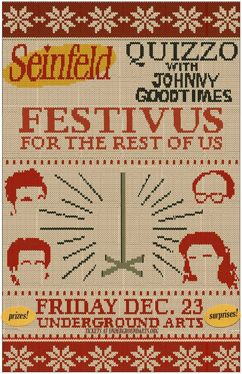 Seinfeld Quizzo…on Festivus