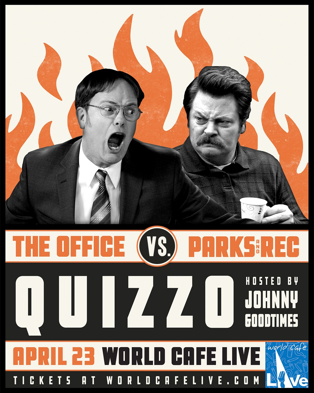 Office vs Parks and Rec Quiz Next Month