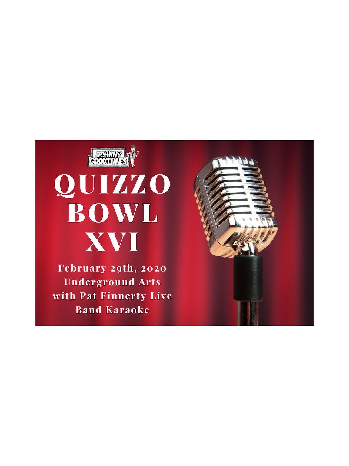 Quizzo Bowl XVI!